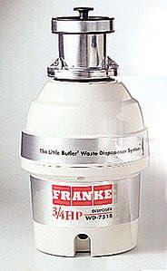Franke WD751B - Main