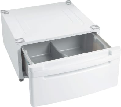 Lg wdp3w laundry pedestal with drawer, white for lg front loading.