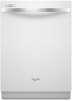 Whirlpool Gold White Ice WDT710PAYH - White with Silver Handle