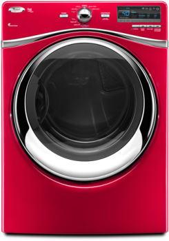 Whirlpool Duet Steam WED94HEXR - Cranberry