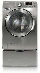 Samsung WF448AA - Stainless Platinum with Optional Pedestal
