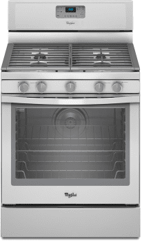 Whirlpool WFG540H0AH - White with Silver Handle