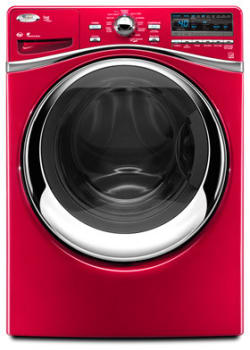 Whirlpool Duet Steam WFW95HEXR - Cranberry