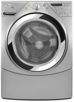 Whirlpool Duet Steam WFW9750WL - 27-Inch Steam Washer