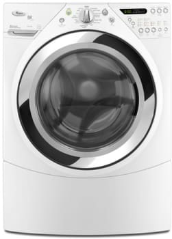 Whirlpool Duet Steam WFW9750WW - 27-Inch Steam Washer