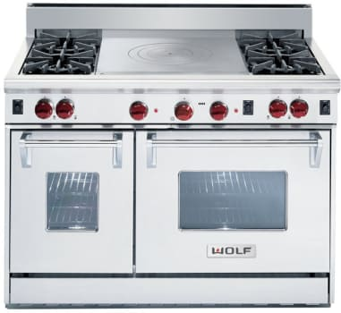 Wolf R484FLP - Classic Stainless Steel