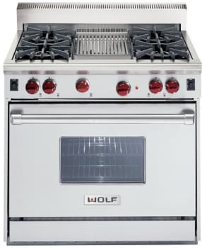 Wolf R364Cx - Classic Stainless Steel