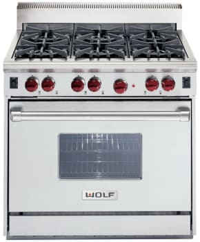 Wolf R366LP - Classic Stainless Steel