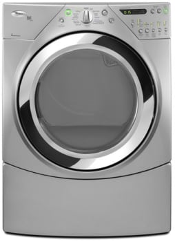Whirlpool Duet Steam WGD9750WL - 27-Inch Gas Dryer