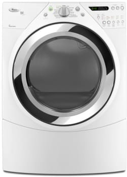 "Whirlpool Duet Steam WGD9750WW - 27"" Duet Steam Gas Dryer"