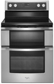 Whirlpool WGE755C0BS - Stainless Steel