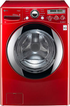 LG SteamWasher Series WM2650HRA - Wild Cherry Red