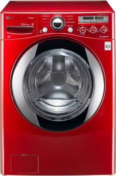LG SteamWasher Series WM2650HRA - Wild Cherry Red