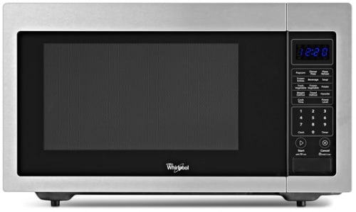 Whirlpool WMC30516AS - Black on Stainless