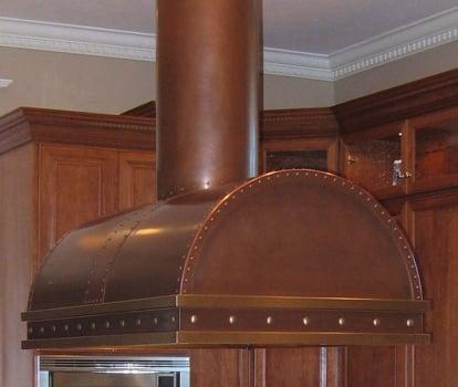 RangeCraft CM_COOPER - Antique Copper with Antique Brass Accents