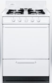 "Summit WNM110P - 20"" Apartment Size Gas Range"