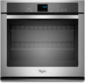 Whirlpool Wos51ec7as 27 Inch Single Electric Wall Oven With 43 Cu