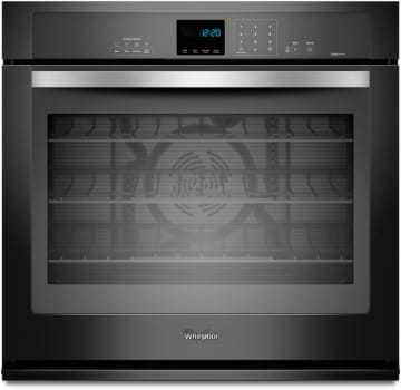 Whirlpool WOS92EC0AE - Black with Silver Handle