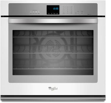 Whirlpool WOS92EC0AH - White with Silver Handle