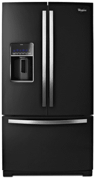 Whirlpool Black Ice WRF989SDAE - Black/Silver
