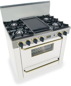 FiveStar WPN3107SW - White with Brass Trim