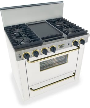 FiveStar WPN3317SW - White with Brass Trim