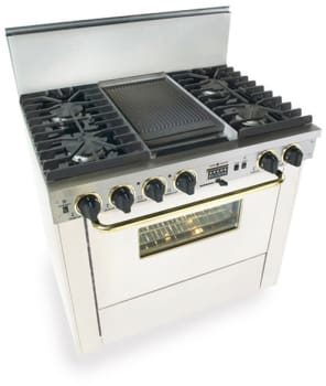 FiveStar WPN3377SW - White with Brass Trim