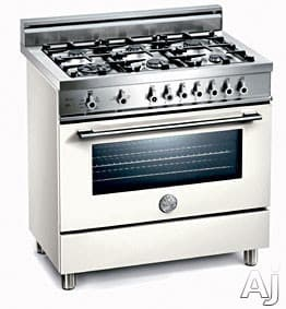 Bertazzoni Professional Series X365PIRBI - Bianco / Pure White of 6 Burner Model (Not Exact Image)