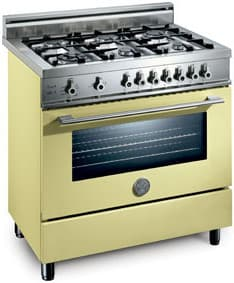 Bertazzoni Professional Series X365PIRCR - Crema / Cream of 6 Burner Model (Not Exact Image)