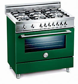 Bertazzoni Professional Series X365PIRVE - Verde / Green of 6 Burner Model (Not Exact Image)
