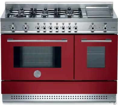 Bertazzoni Professional Series X486GPIRVI - Burgundy / Vino