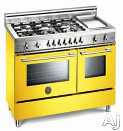 Bertazzoni Professional Series X486GPIRGI - Yellow / Giallo