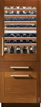 Monogram ZIW30GNDII - Fully Integrated Wine Refrigerator