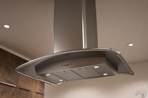 Zephyr Europa Milano Series ZMLE42B - Stainless Steel Canopy