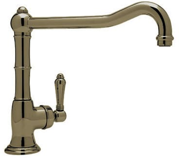Rohl Country Kitchen Collection A365011LPTCB2 - Tuscan Brass (shown with metal handle)