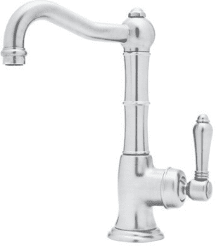 Rohl Country Kitchen Collection A365065LX2 - Polished Chrome (shown with metal handle option)
