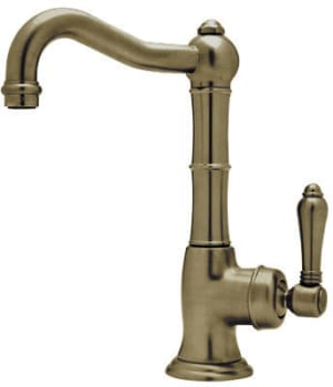 Rohl Country Kitchen Collection A365065LPTCB2 - Tuscan Brass (shown with metal handle option)