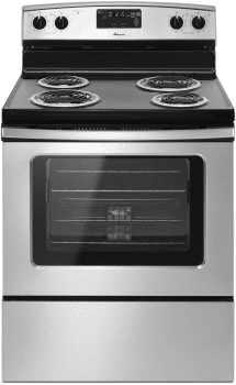 "Amana ACR4303MES - 30"" Stainless Steel Electric Range with Storage Drawer"