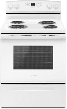 Amana ACR4503SFW - Amana 30 Inch Electric Range in White