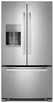 "Amana AFI2539ER - 25 cu. ft. Capacity 36"" Wide French Door Bottom Freezer Refrigerator (Stainless Steel Pictured)"