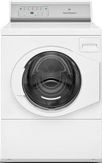 "Speed Queen AFNE9RSP113TW01 - 27"" Front Load Washer with 3.42 cu. ft. Capacity"