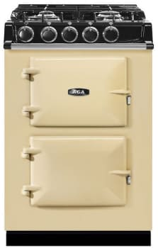 AGA City 24 Series ATC2DFCRM - Cream Front View