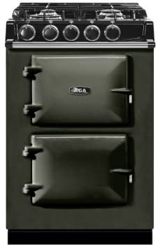 AGA City 24 Series ATC2DFPWT - Pewter Front View