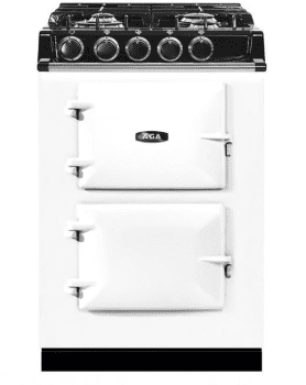 AGA City 24 Series ATC2DFWHT - White Front View