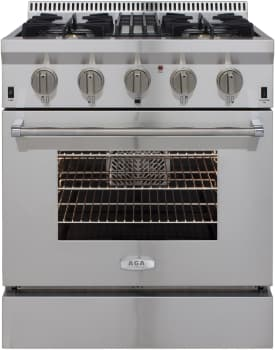 AGA Professional Series APRO30DFSS - Front View