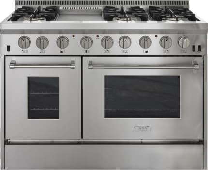AGA Professional Series APRO48DFSS - Front View