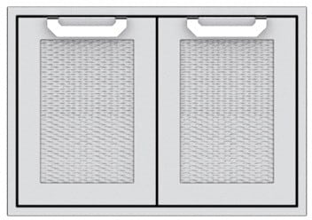 "Hestan AGAD36WH - 30"" Double Storage Drawers"