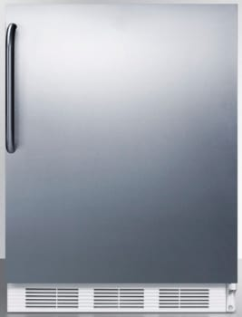 AccuCold AL650BISSTB - Stainless Door with Towel Bar Handle