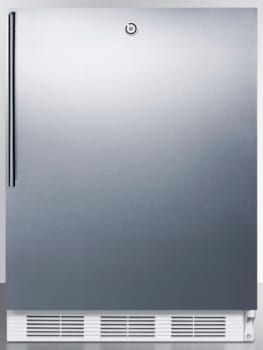 AccuCold AL650LSSHV - Stainless Door with Vertical Thin Handle