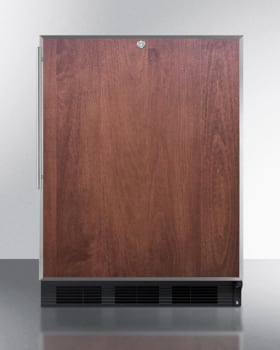AccuCold AL752LBLBIFR - Featured View, Shown with Panel (Sold Separately